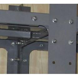 Складские металлические стеллажи типа СДС