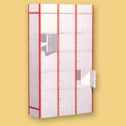 Стеллаж для сумок КХ (420x420x2100)