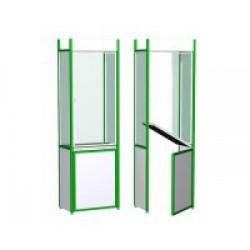 Окно выдачи - проход. Комплект панелей СТ 20 ОВПР/600 (600x400x2100)